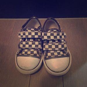 Toddler Checker Vans